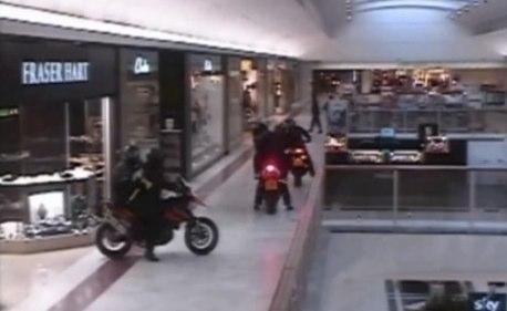 Axe-wielding bikers storm shopping centre-Telegraph3