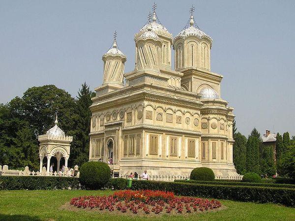 The Cathedral of Curtea de ArgeÈ™, Romania