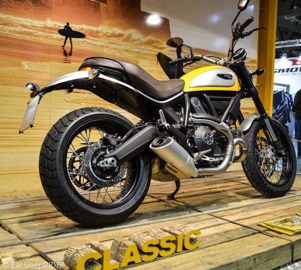 Classic Ducati Scrambler 2015