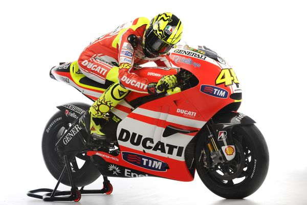 Rossi On The Ducati GP11