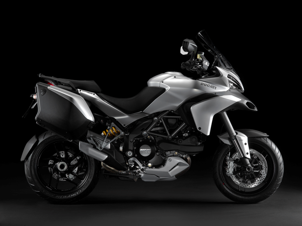 2013 Ducati Multistrada 1200 S Touring - right view