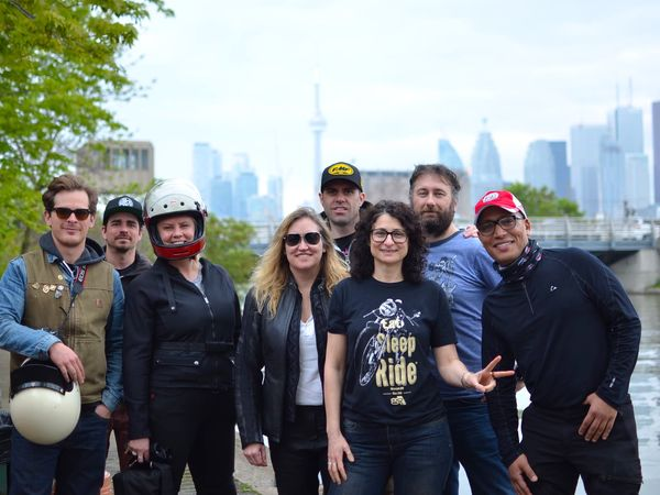 The Toronto SyncRIDE crew post ride. Photo by Wobblycat