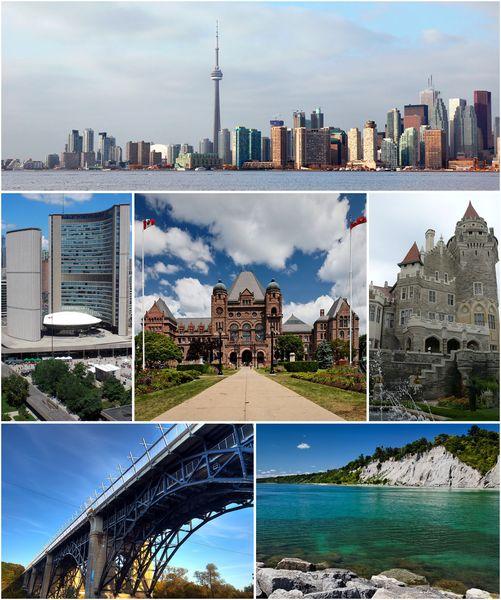 Montage of Toronto