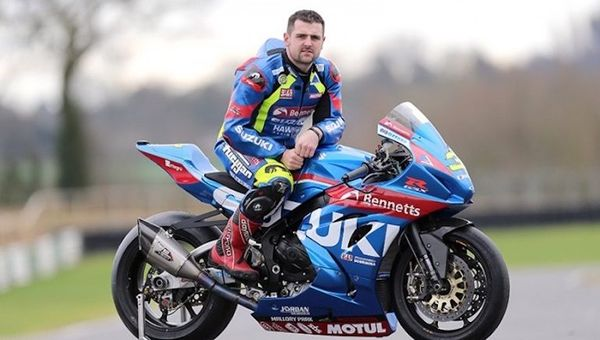 Michael Dunlop on his Bennetts GSXR1000