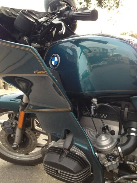 British Racing Green Bmw R100tr | Bike | EatSleepRIDE