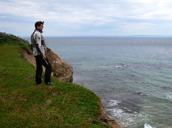 Haning out on the cliffs - Cape St. George