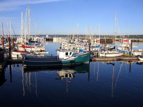 Digby Harbour, Nova Scotia