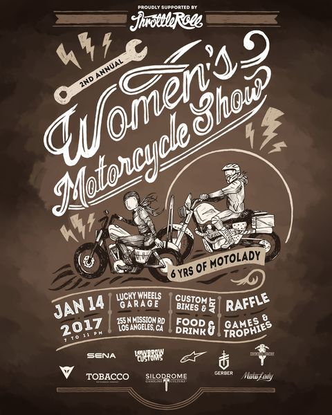 Women's Motorcycle Show 2017