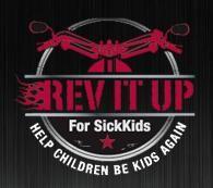 Rev It Up For SickKids Logo