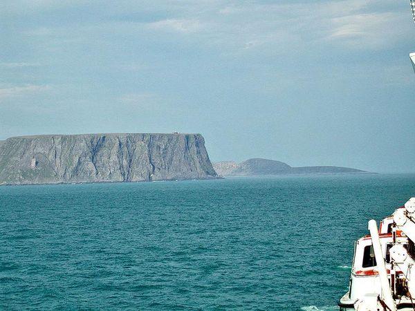 Nordkapp Cliff Norway