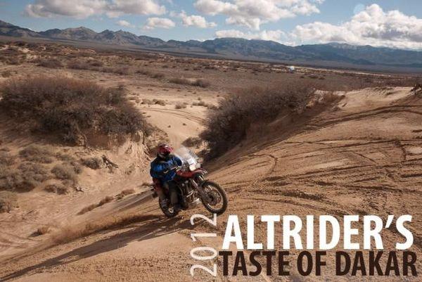AltRider's Taste of Dakar Weekend
