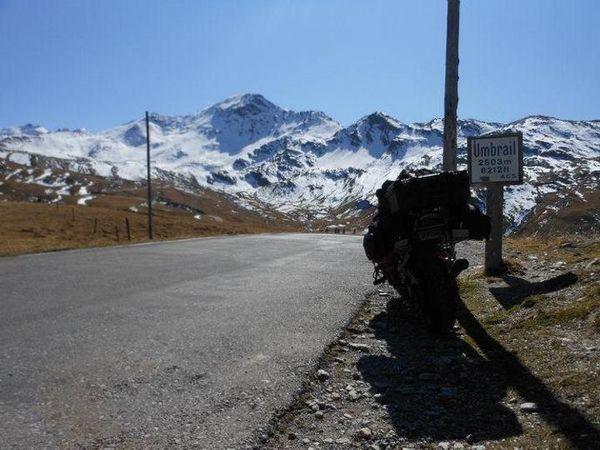 Umbrail Pass peak