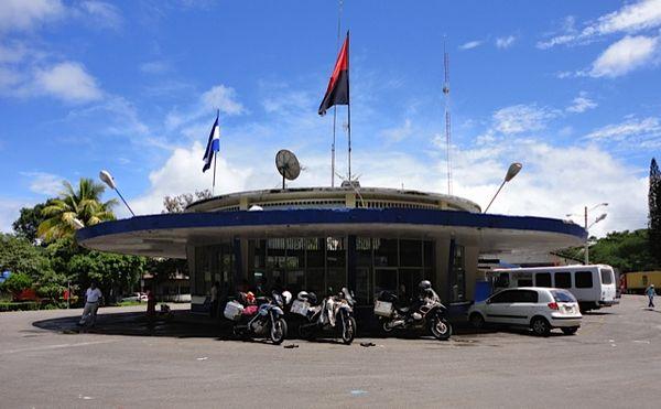 Nicaragua's spacey-looking border
