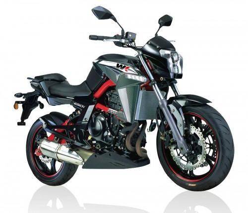CF Moto - WK Bikes 650i
