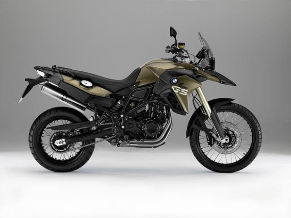 2013 BMW F800GS - right side view