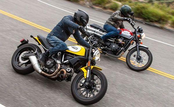 Scrambler Shootout Ducati versus Triumph