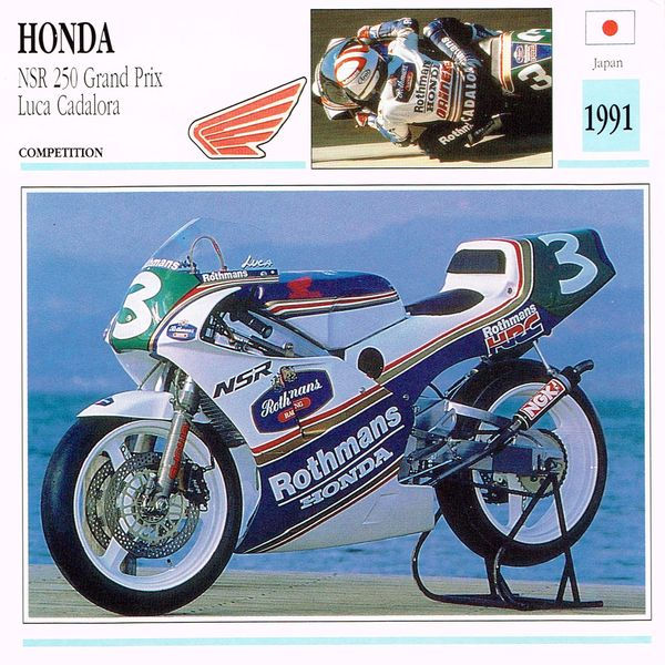 Honda NSR 250 Grand Prix card