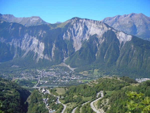 View of d'Oisans from d'huez