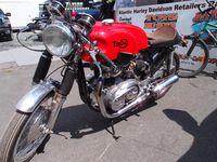 Bob Geldart's Triton - Norton Atlas chassis with a 73 Triumph T140 750cc engine