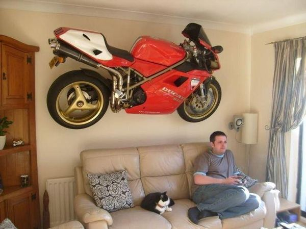 Motorcycles In The Living Room! | Blogpost | EatSleepRIDE