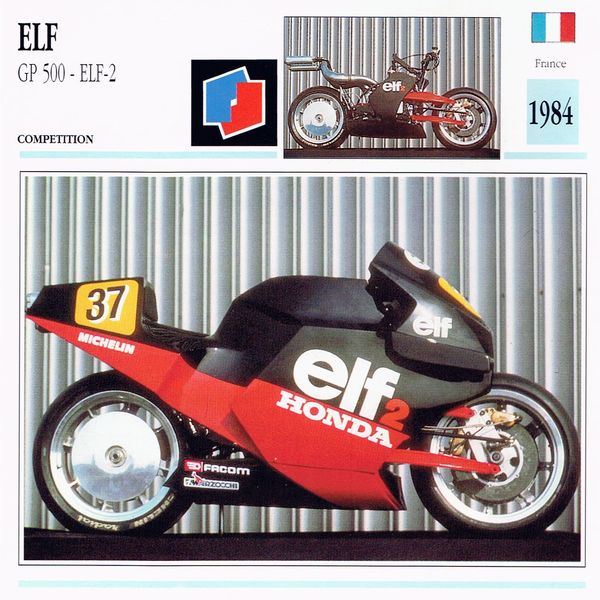 Elf GP 500 ELF 2 card