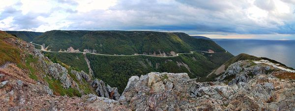 The Cabot Trail, Cape Breton Island, Nova Scotia