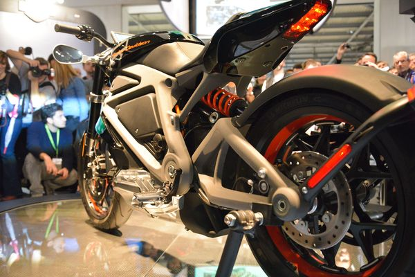 Harley Davidson Project Livewire Electric Motorcycle at EICMA 2014
