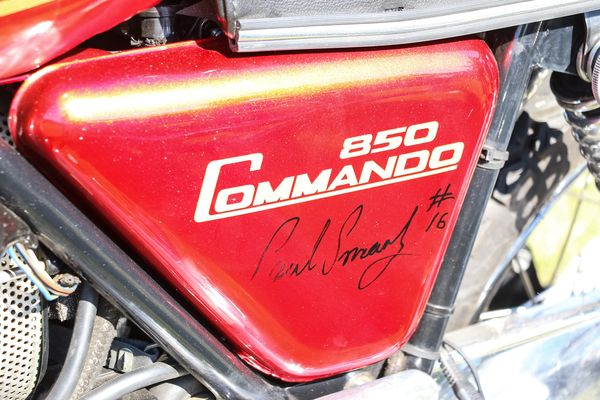 A Paul Smart signed Commando
