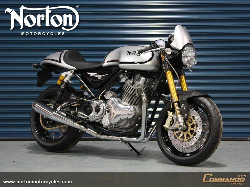 2012 Norton Commando 961 Cafe Racer Bike Eatsleepride