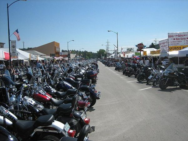 Sturgis South Dakota Street Parking