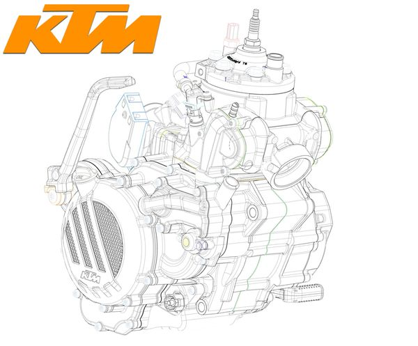 KTM's New Fuel-Injected Two-Stroke