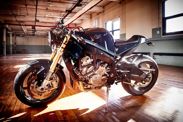 S1000R.  The Art of the Cafe Racer Conversion.