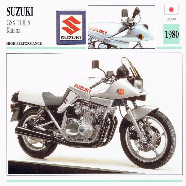 Suzuki GSX 1000 S Katana card