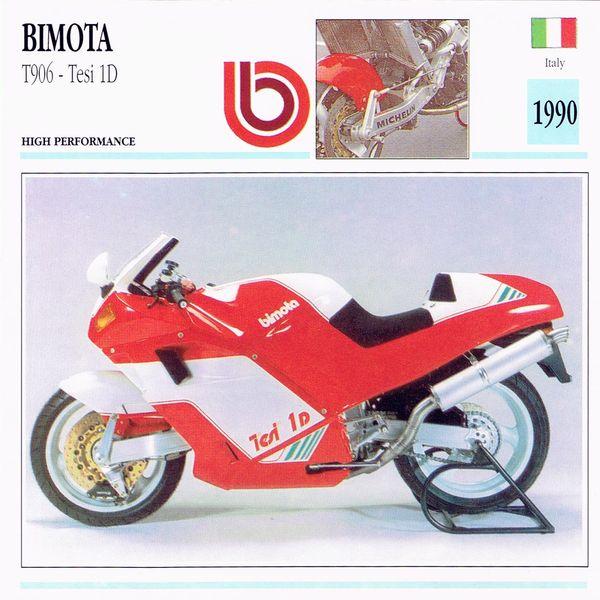 Bimota T906 Tesi 1D card