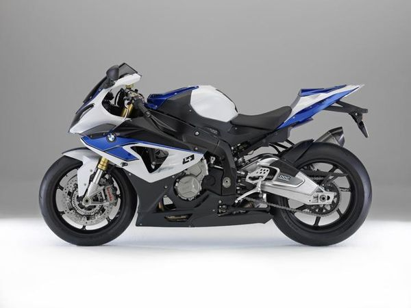2013 BMW HP4 - left side view