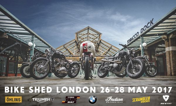 Bike Shed UK is almost here! Photo: thebikeshed.cc