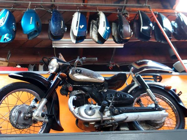 1958 Benly 125. These were Honda before they were called Honda