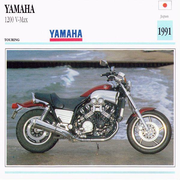 Yamaha 1200 V-Max Card
