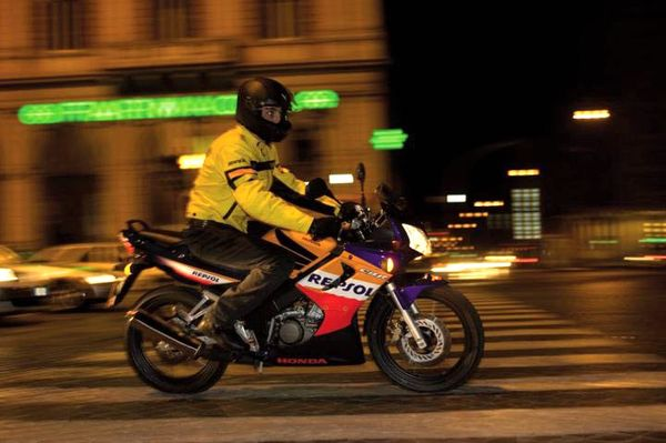 Motorcycle riding at night - Safety tips