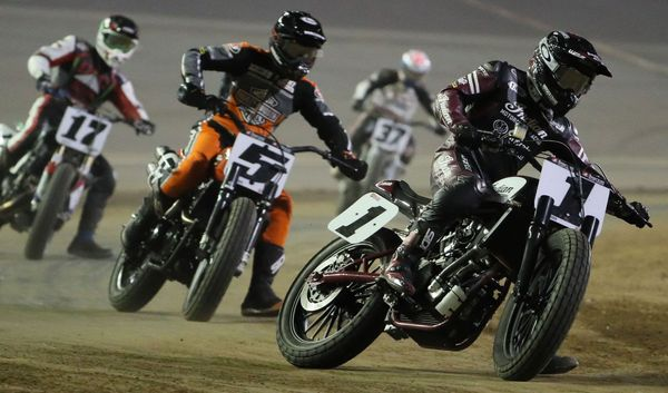 American Flat Track heads north to Dixie Speedway for the Atlanta Short Track presented by Indian Motorcycle