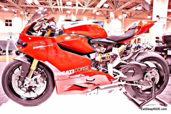 2013 Ducati Panigale side