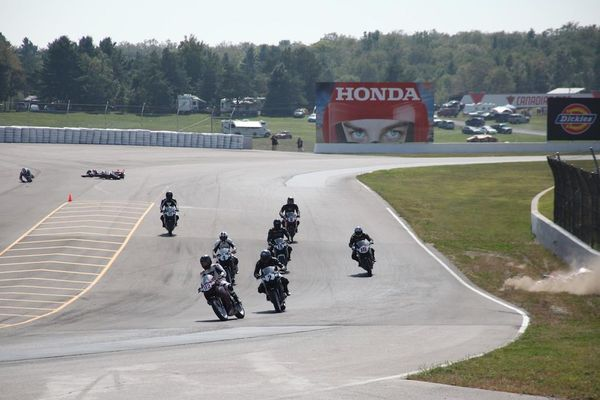 Race #10, CBR250R Crash6