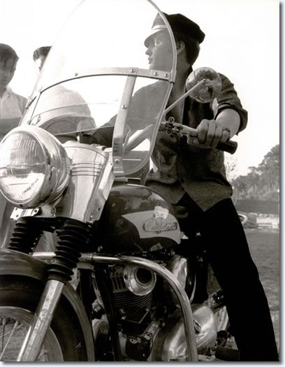 Elvis motorcycle Harley