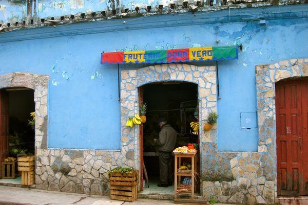 Fruit & veg store in San Cristobal, Mexico