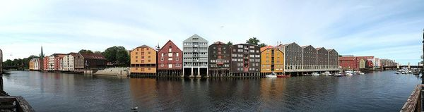 Trondheim City Panorama