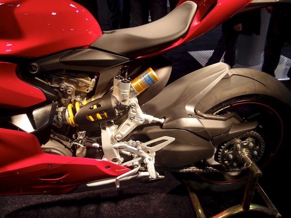 Ducati 1199 Panigale S - Rear View