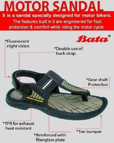 For those of you who want to stay both cool and ATGATT - the motorcycle sandal