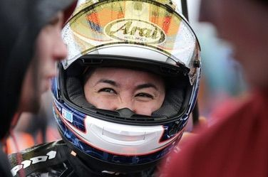 Racer Patricia Fernandez