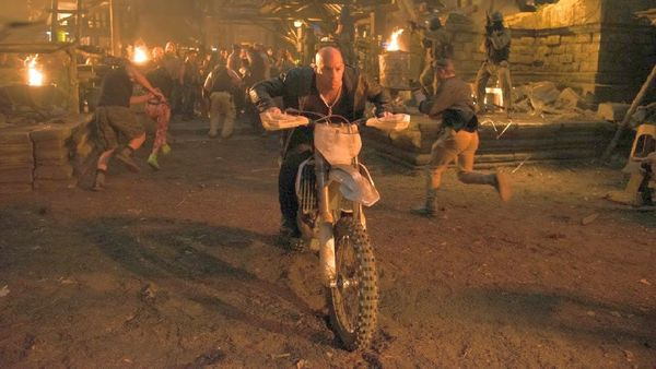 Vin Diesel - Motocross Martial Arts
