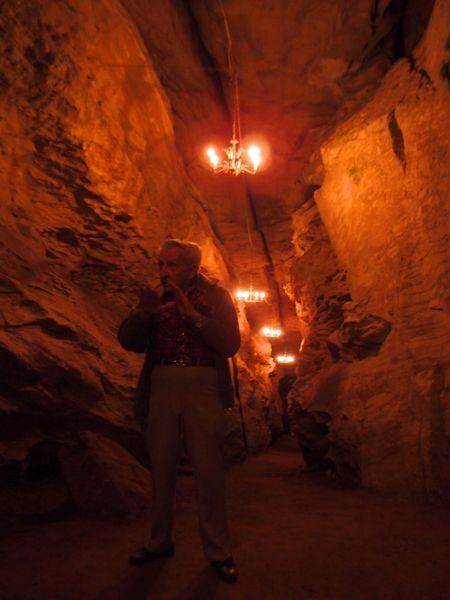 Laurel Cavern tour guide